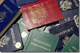 paspoort vergeten koerier zaventem